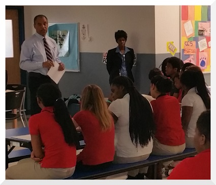 Campus Community School welcomed the University of Delaware