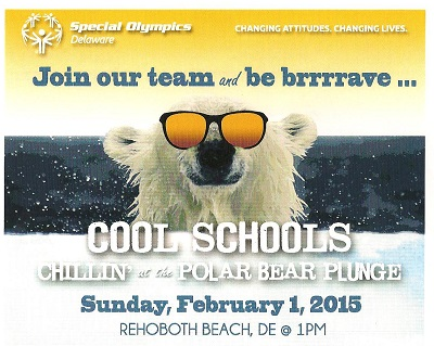 Support the Campus Community Frozen Cougars Polar Bear Plunge